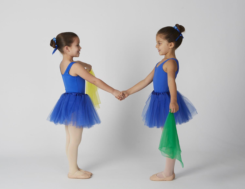 Preschool Creative Ballet Students in Salem Dance Studio